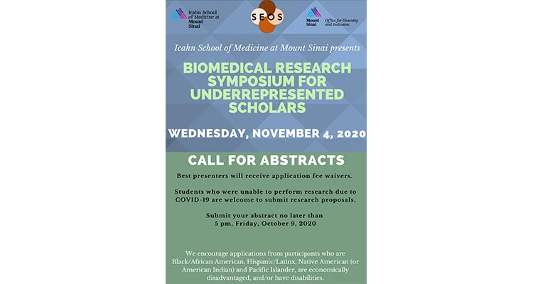 Biomedical research flyer