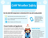 Cold Weather Safety Infographic