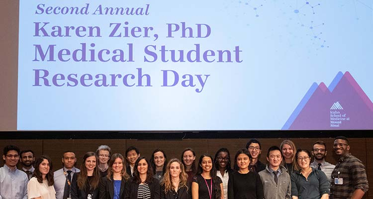 Research Day students