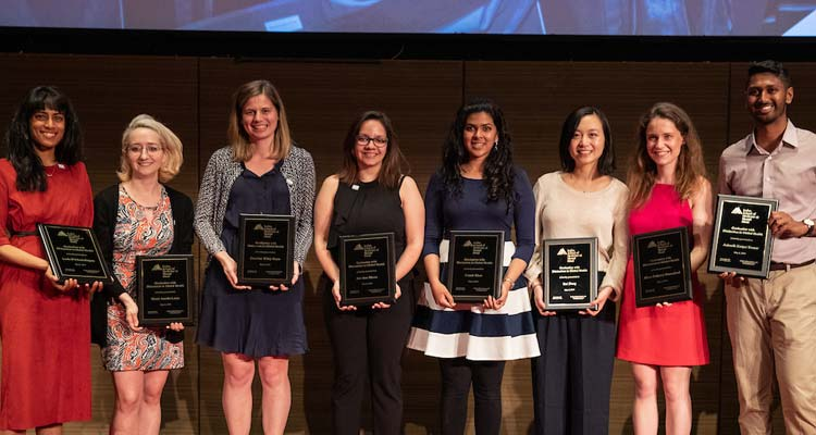 2019 distinction in global health awardees