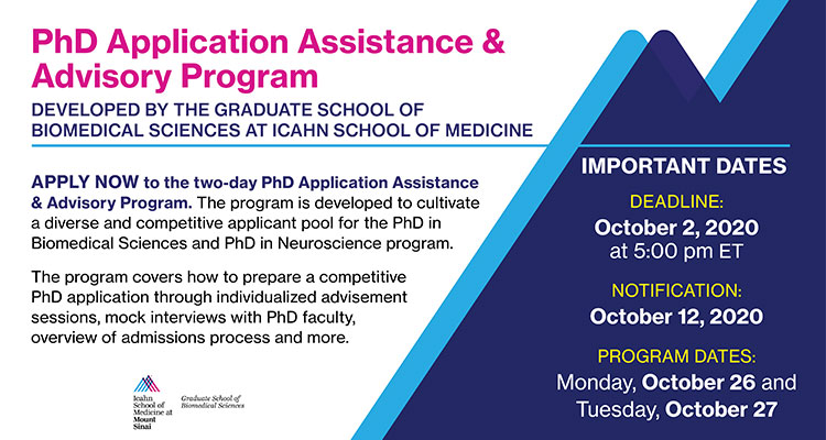 PhD Application Assistance and Advisory Program