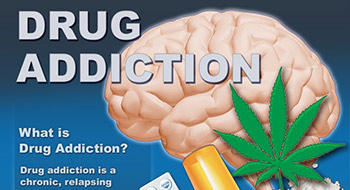 drug addiction infographics