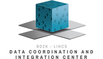 image of the BD2K - LINCS data coordination and integration center logo