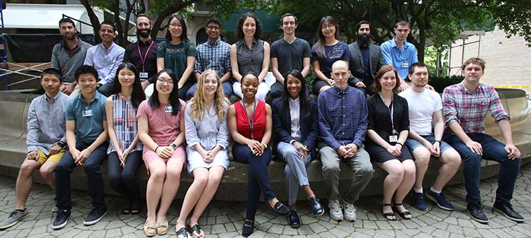 Members of the Ma'ayan Laboratory and the 2018 BDK2-LINCS Summer Research Fellows