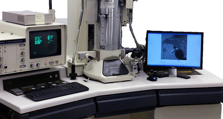 image of Hitachi 7000 microscope