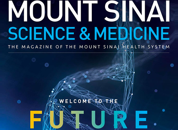 mount sinai health and science magazine image cover