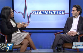NY1 City HealthBeat with Dr. Kolevzon